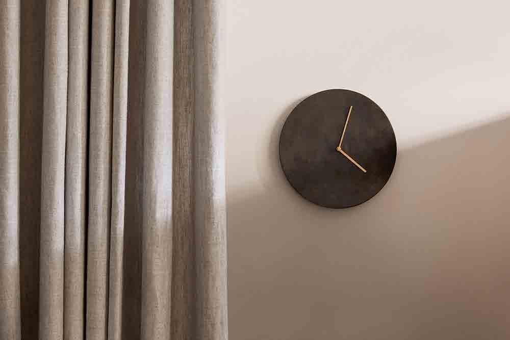 Norm Wall Clock Dark